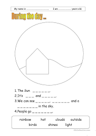 Number Names Worksheets » Night And Day Worksheets - Free ...