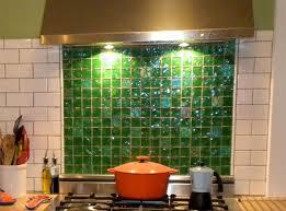 kitchen backsplash glass tile green. Refresh Your Mood With Green Glass Tiles For Kitchen Backsplashes :  Lightstreams Gas Burner Kitchen Backsplash Glass Tile Green B