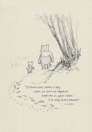 If There Ever Comes A Day Winnie The Pooh Quotes Classic Etsy Gorgeous Pooh Quotes