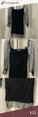 Princess Polly Little Black Lace Sleeve Dress in 2020   Lace dress with  sleeves, Black dress lace sleeves, Little black lace dress