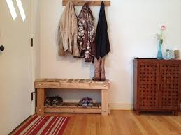 Wooden Coat Rack With Bench Vintage Entryway Bench And Coat Rack Home Design Ideas 72