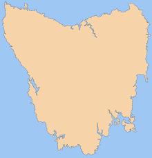 blank map of tasmania • mapsofnet