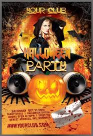 halloween template flyer 20 halloween flyer templates for halloween party events