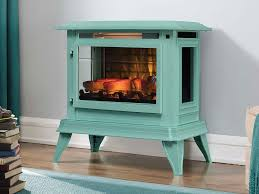 duraflame 3d ice blue infragen electric fireplace stove w remote control dfi 5020 05