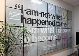 wall art office. Office Wall Art Hospital Interior Graphics For The Spinal Unit At Pinderfields D
