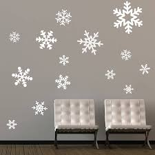 diy wall decor decorating ideas beautiful white winter theme wall on diy holiday room