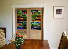 painted glass doors 2 painted cast and fused glass door lights mumbles can you paint glass painted glass doors