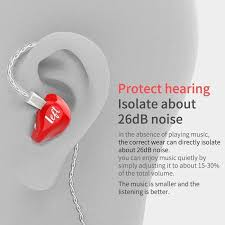 Knowledge Zenith <b>KZ ZS3E</b> Dynamic HiFi Stereo <b>Earphones In ear</b> ...