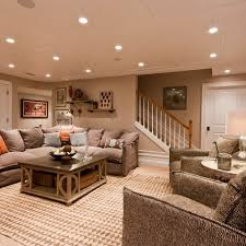 cozy basement add more color and this is the exact feel id love basement lighting layout