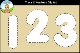 She's the author of svg animations from o'reilly and has given frontend masters workshops. Trace It Numbers Clip Art Graphic By Aisne Educlips Creative Fabrica