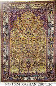 rug no 1524 persian kashan tree of life design circa 1910 super