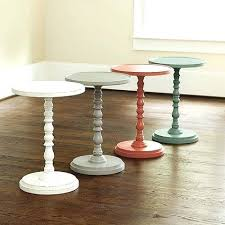 pedestal accent table come learn how to make this easy pedestal side table for the fraction pedestal accent table