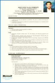 Objectives In Resume For Ojt Objective For Resume Ojt Emberskyme 11