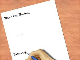 How To End A Letter Sincerely 8 Steps With Pictures Wikihow