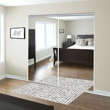 For the entryway ReliaBilt 48-in x 80-in Mirrored Interior Sliding ...