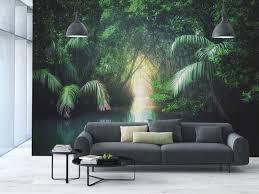 Amazoncom Large Wall Mural Sticker Jungletropical Lake Mangrove