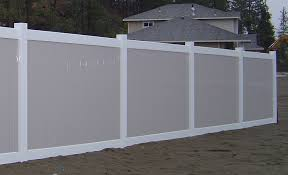 Vinyl Fencing Colors White Privacy Vinyl Fence sitezco