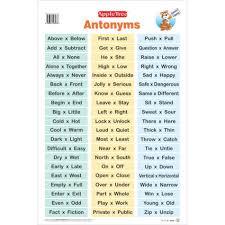 Apple Tree Antonyms Chart