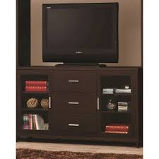 tall media console. Tall Media Console