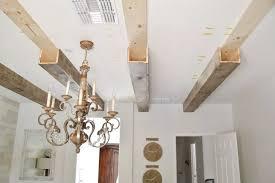 diy ceiling box beams