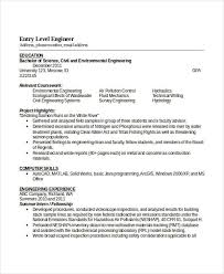 civil engg resume