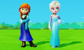 Королева <b>Эльза Холодное Сердце</b> Принцесса Анна и Олень ...