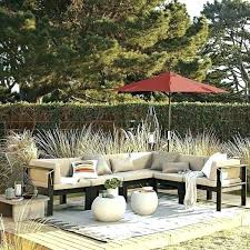 west elm outdoor furniture. West Elm Outdoor Furniture Wood Slat Sectional Cushions Modern Sofas . S