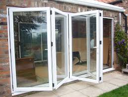 accordion glass doors exterior