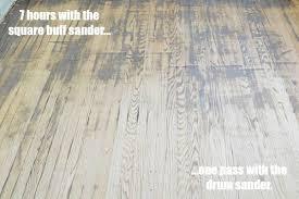 orbital sander vs belt sander for hardwood floors