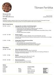 English Resume Samples Education Resume Samples From Real Professionals Who Got