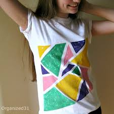 80s style painted tees have fun painting 80 s inspired t shirts with fabric paint