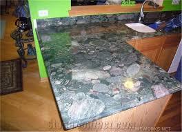 verde marinace granite kitchen peninsula countertop green granite kitchen countertop