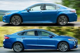 Ford Fusion Color Chart 2019 Toyota Camry Vs 2019 Ford Fusion Which Is Better