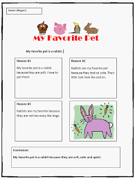 opinion writing template my favorite pet k computer lab my favorite pet opinion writing template finished example