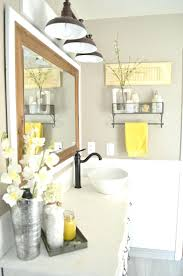 grey and yellow bathroom decor gray wall accessories uk