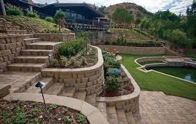Small Picture Attractive Retaining Wall Backyard Landscaping Ideas Dolan39s
