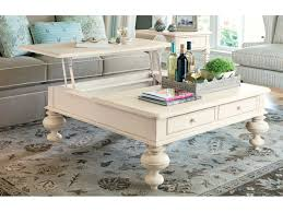 paula deen home linen 44 square put your feet up coffee table