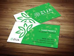 Buissness Cards Zija Business Card Design 6