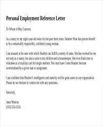 Excellent Personal Recommendation Letter Sample For Your Job Vatansun