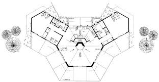 Contemporary House Plans  McKinley 10181  Associated DesignsHexagon House Plans