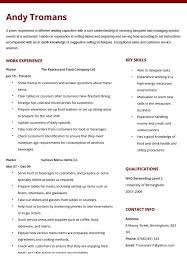 Waiter Resume Examples Impressive Waitress Resume Example New 48 Elegant Food Server Resume Wtfmaths