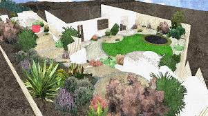 Small Picture Beautiful Garden Design On A Slope Awesome For Inside Inspiration