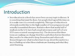 sex education the ins and out of the hard facts ppt  2 introduction