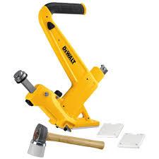 hardwood floor nailer instructions