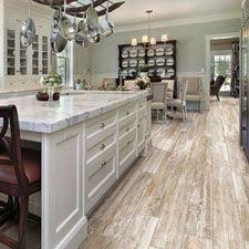 this porcelain tile features rustic wood graphics and has the ease of maintenance that only can offer wood look tile kitchen flooring2 wood