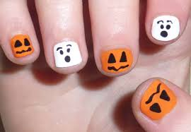Halloween Nail Art Designs, Ideas, Nail Paint Stickers | Happy ...