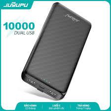 Pin sạc dự phòng JUYUPU X180 10000mAh đèn led báo hiệu mini mỏng gọn dành  cho iPhone Samsung OPPO VIVO HUAWEI XIAOMI - HÀNG CHÍNH HÃNG - Pin sạc dự  phòng di