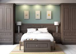 Impressive Fitted Bedrooms Sage Green Is The Colour Of Month So Intended Modern Design