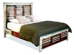 distressed wood bed frame – webnumerology.com