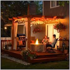 patio string lights ideas